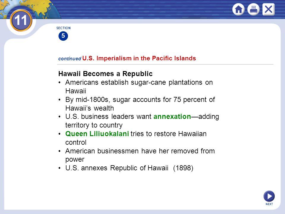 Hawaii Becomes a Republic