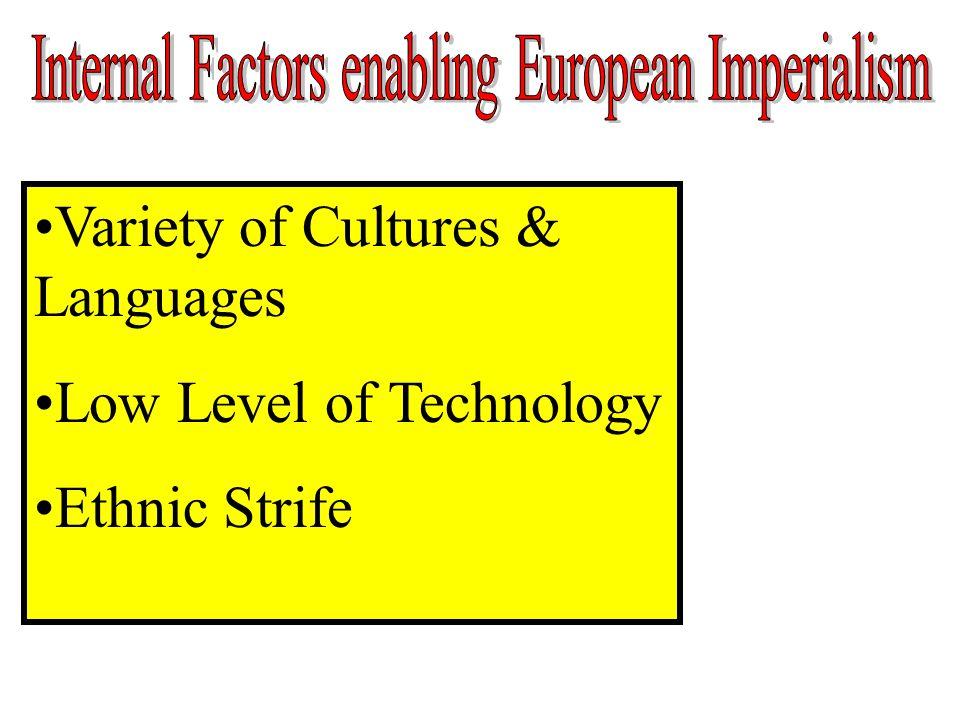 Internal Factors enabling European Imperialism