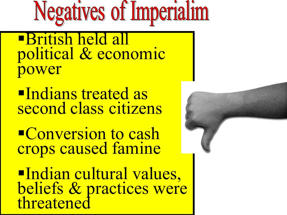 Negatives of Imperialim