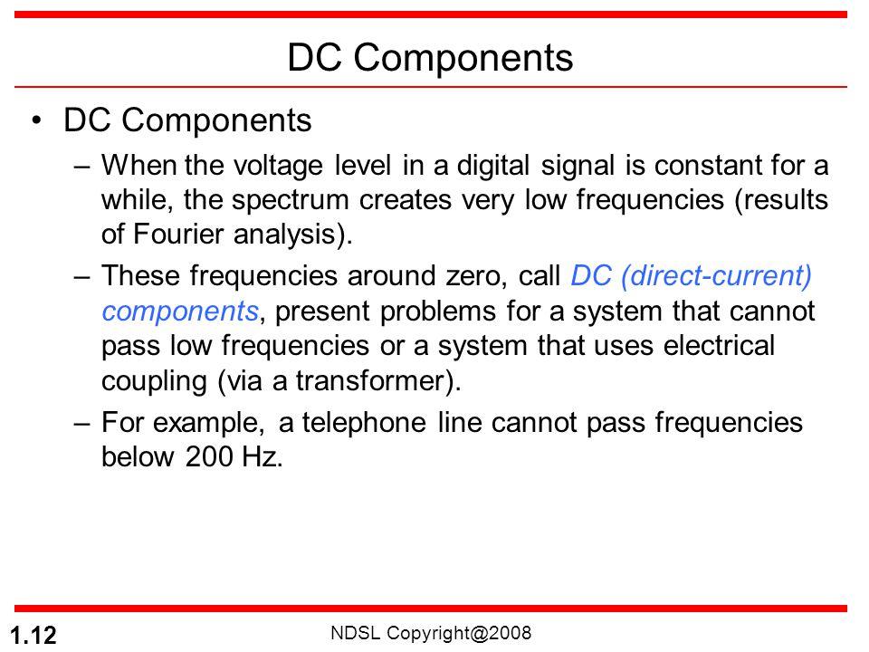 DC Components DC Components