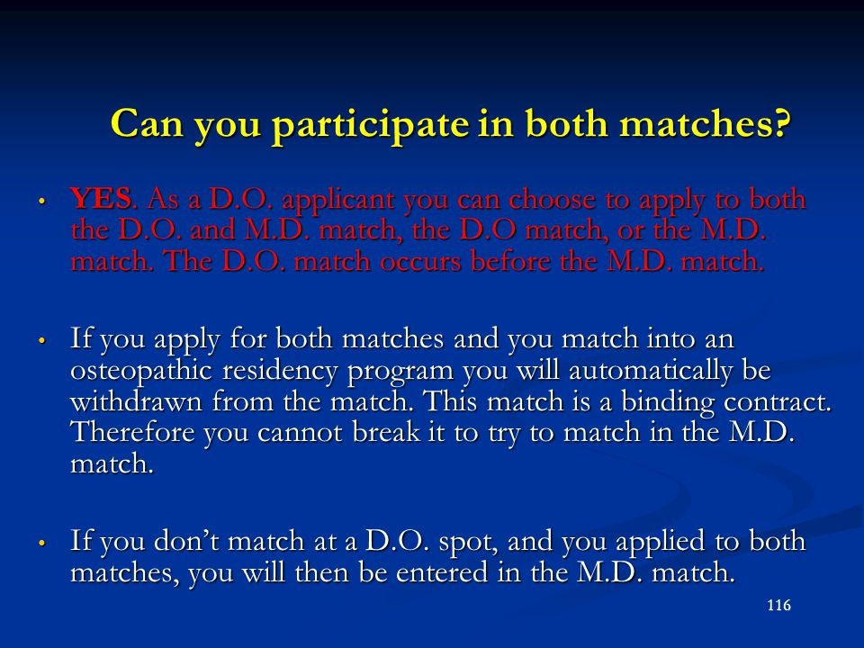 Can you participate in both matches