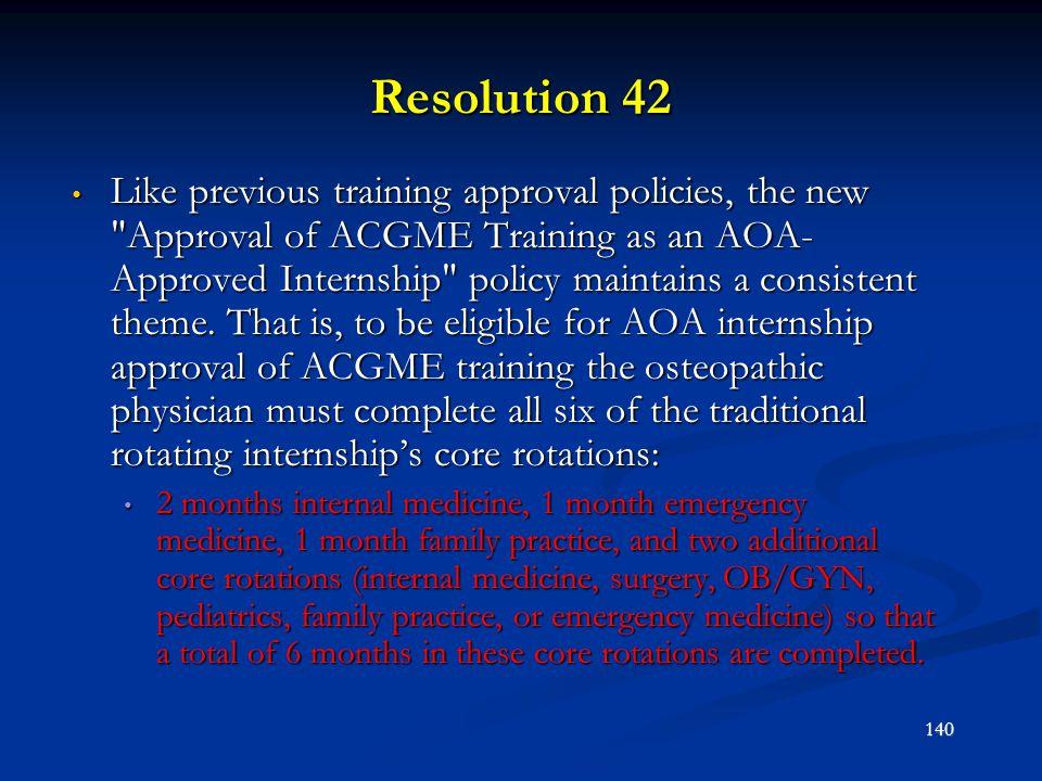 Resolution 42