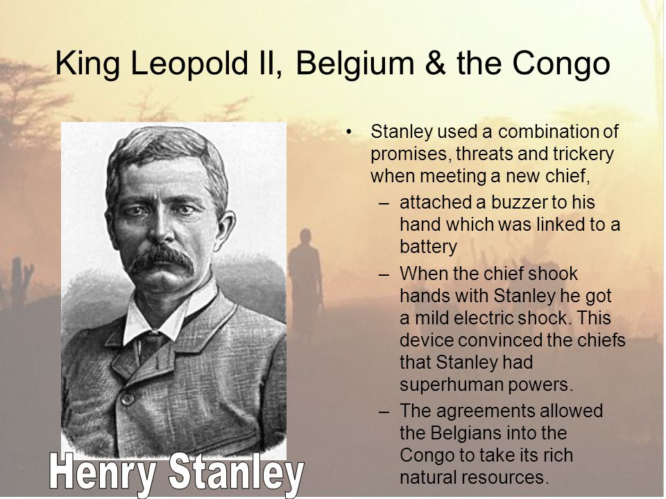 King Leopold II, Belgium & the Congo