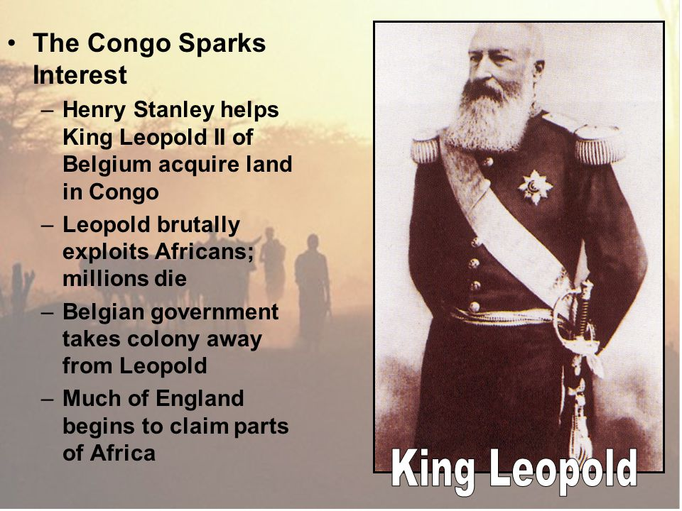 King Leopold The Congo Sparks Interest