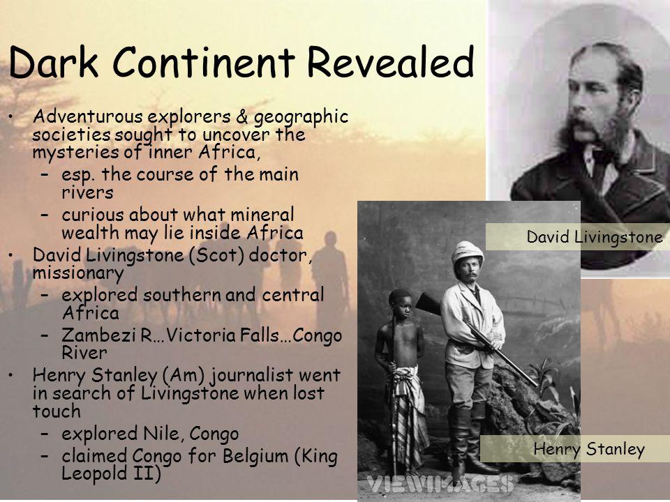 Dark Continent Revealed