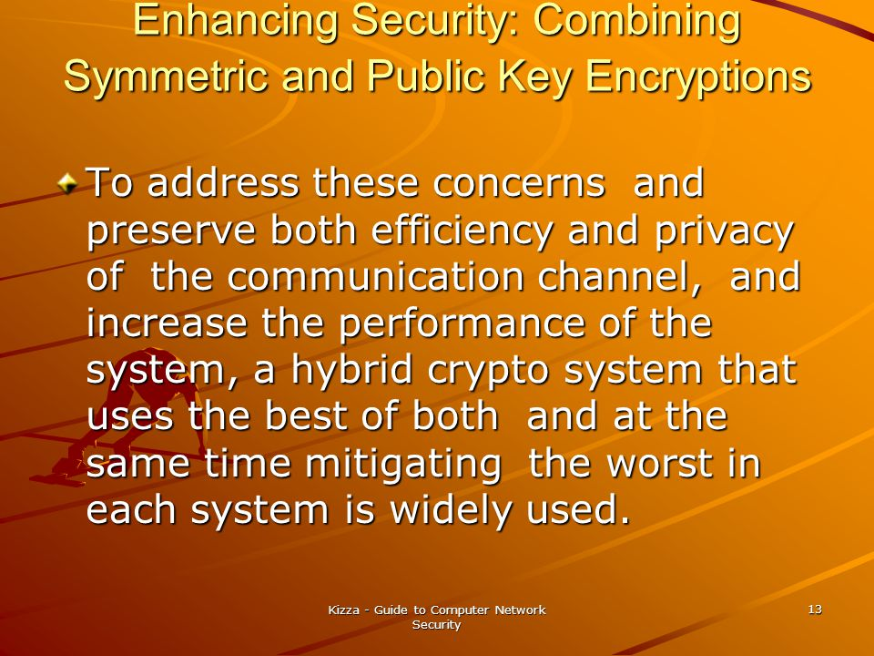 Enhancing Security: Combining Symmetric and Public Key Encryptions