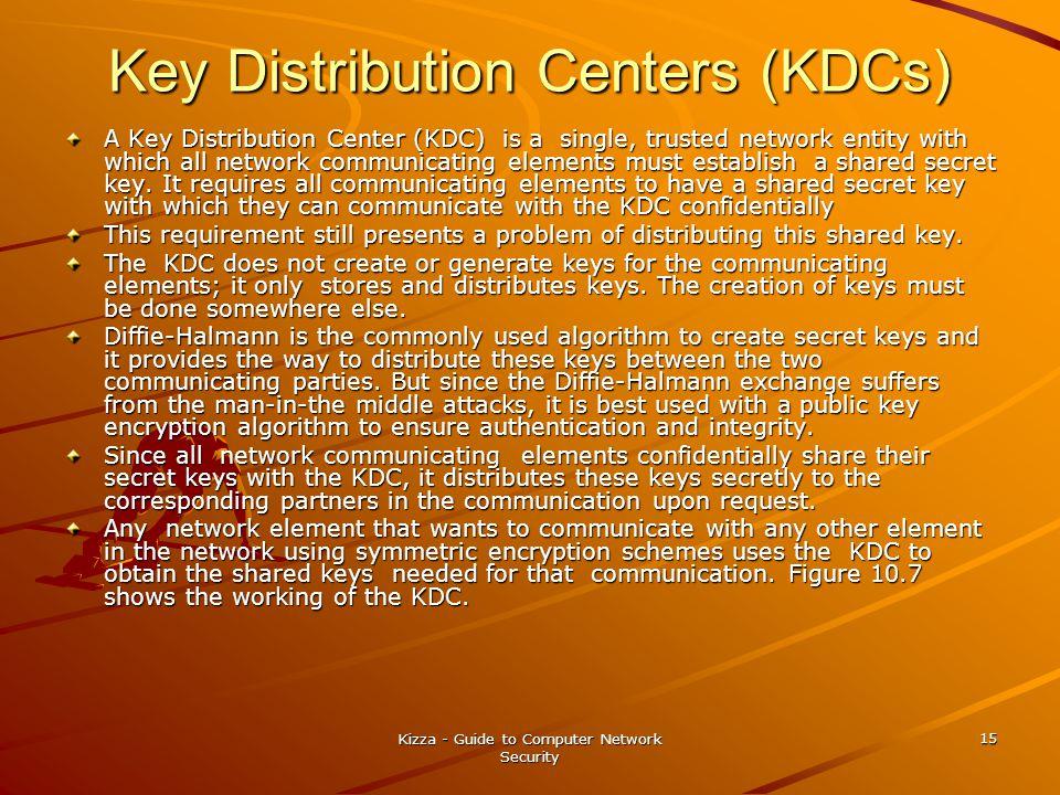 Key Distribution Centers (KDCs)