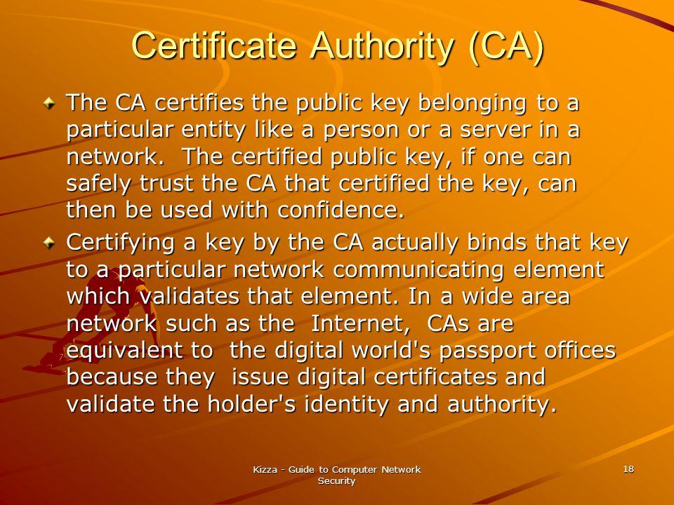 Certificate Authority (CA)