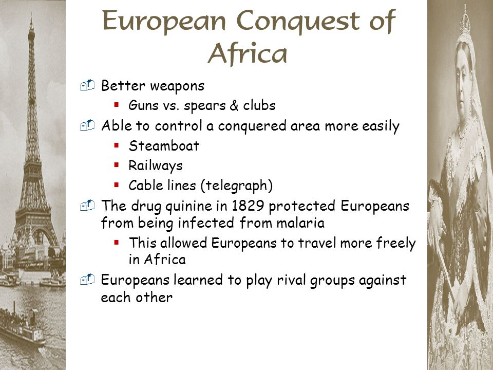 European Conquest of Africa