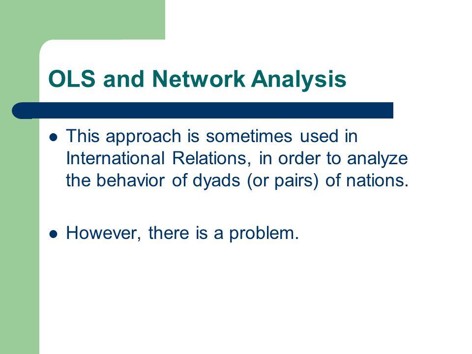 OLS and Network Analysis