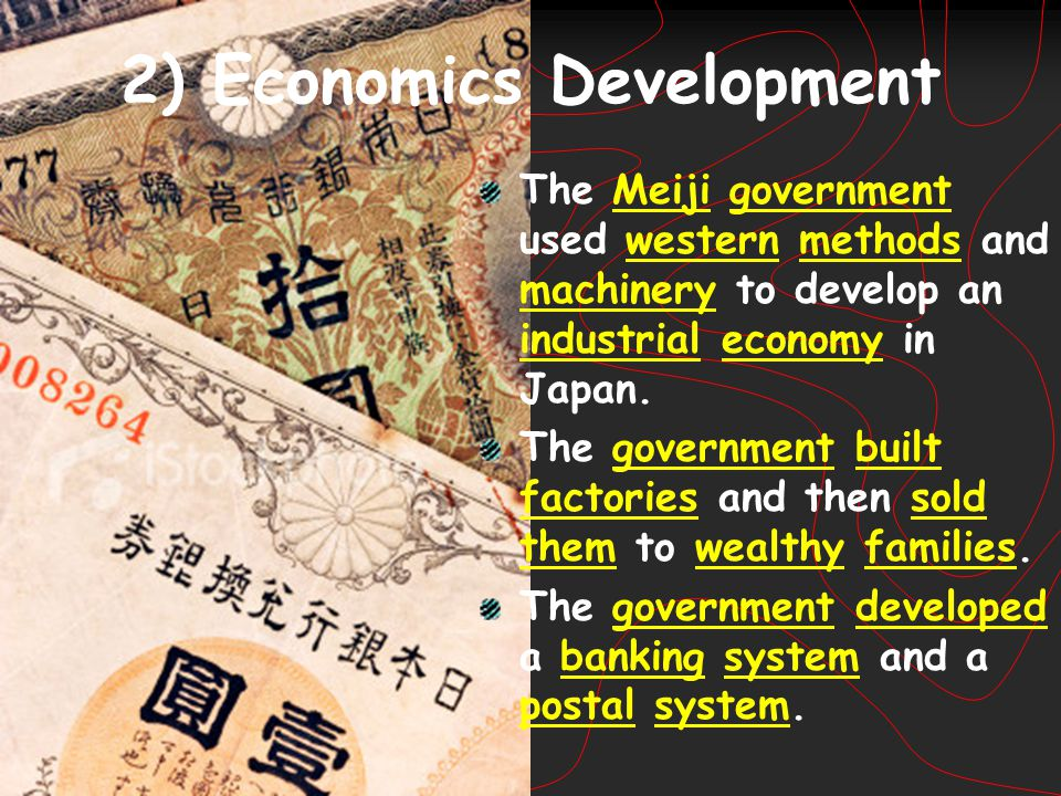 2) Economics Development
