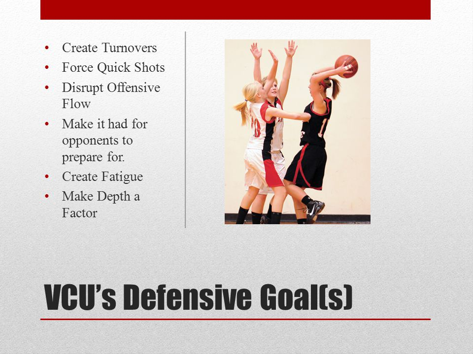 VCU's Defensive Goal(s)