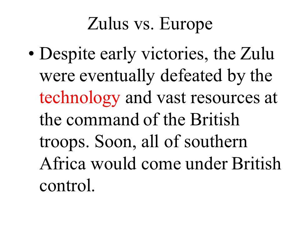 Zulus vs. Europe