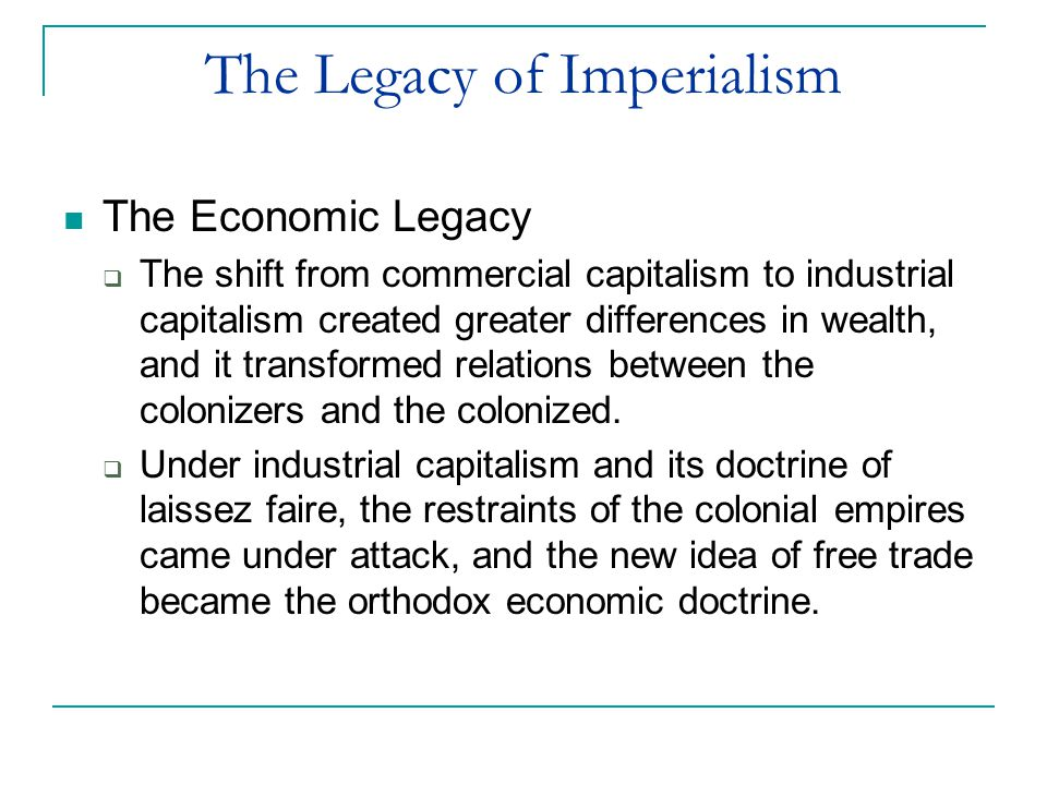 relationship between capitalism and imperialism
