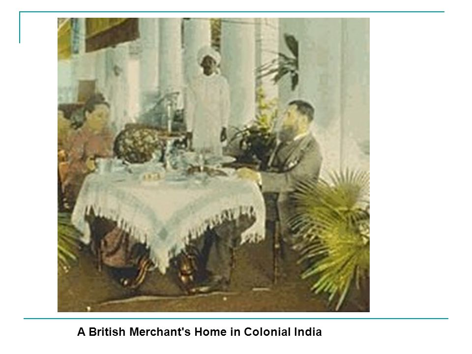 A British Merchant s Home in Colonial India