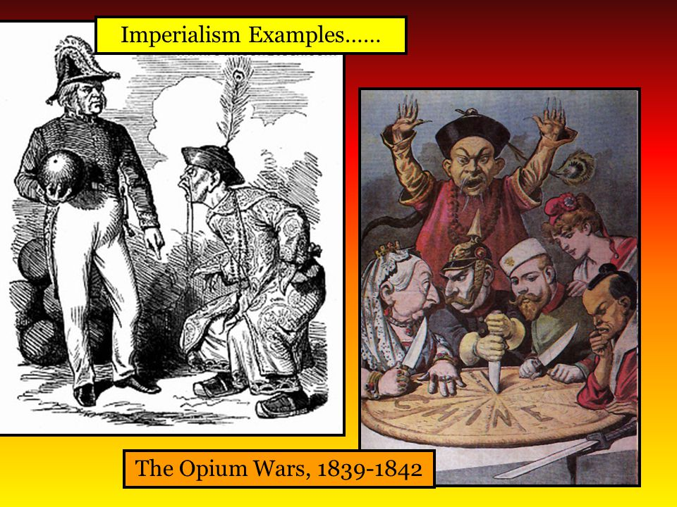 Imperialism Examples……