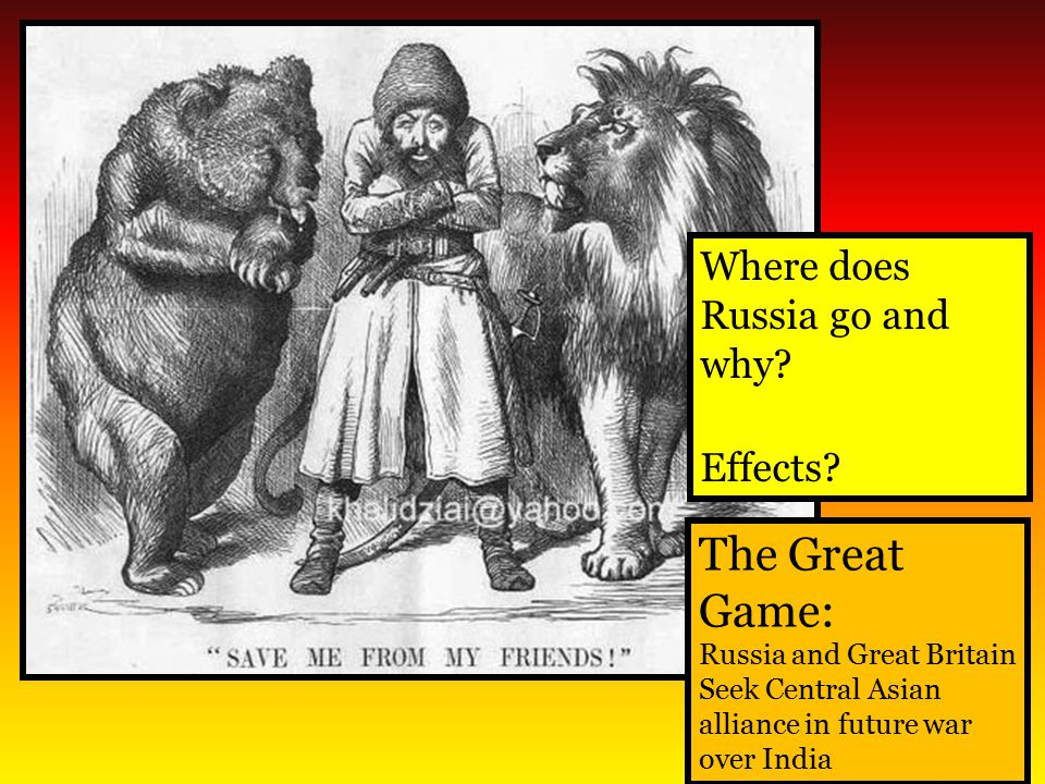 The Great Game: Where does Russia go and why Effects