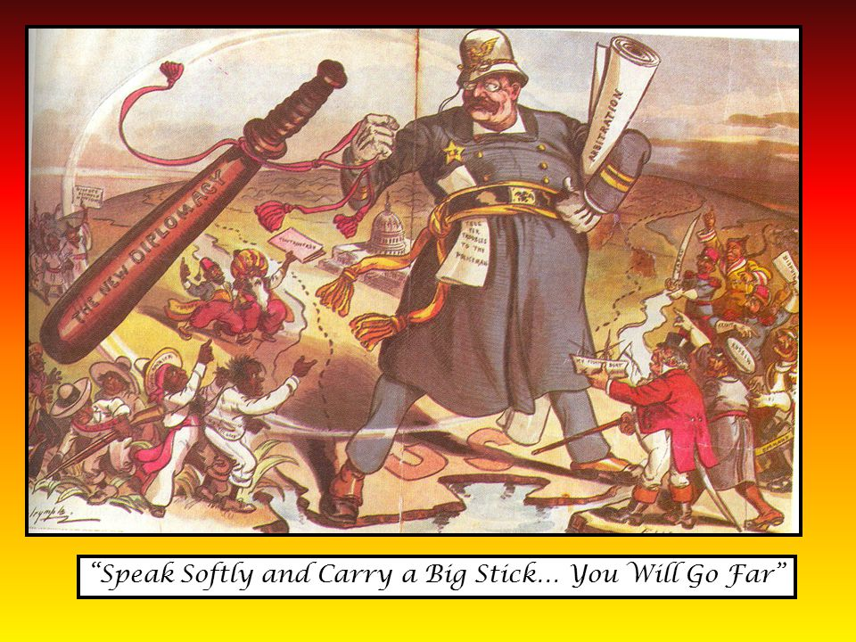 Speak Softly and Carry a Big Stick… You Will Go Far