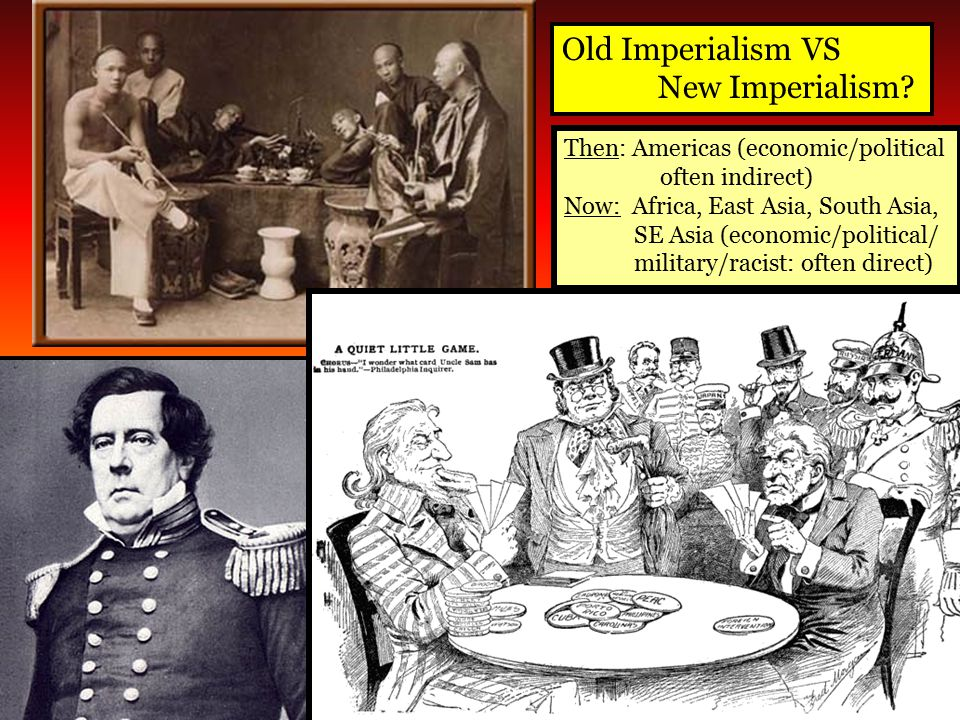 Old Imperialism VS New Imperialism Then: Americas (economic/political