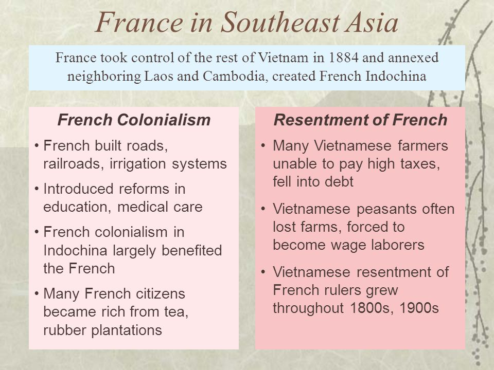 France in Southeast Asia