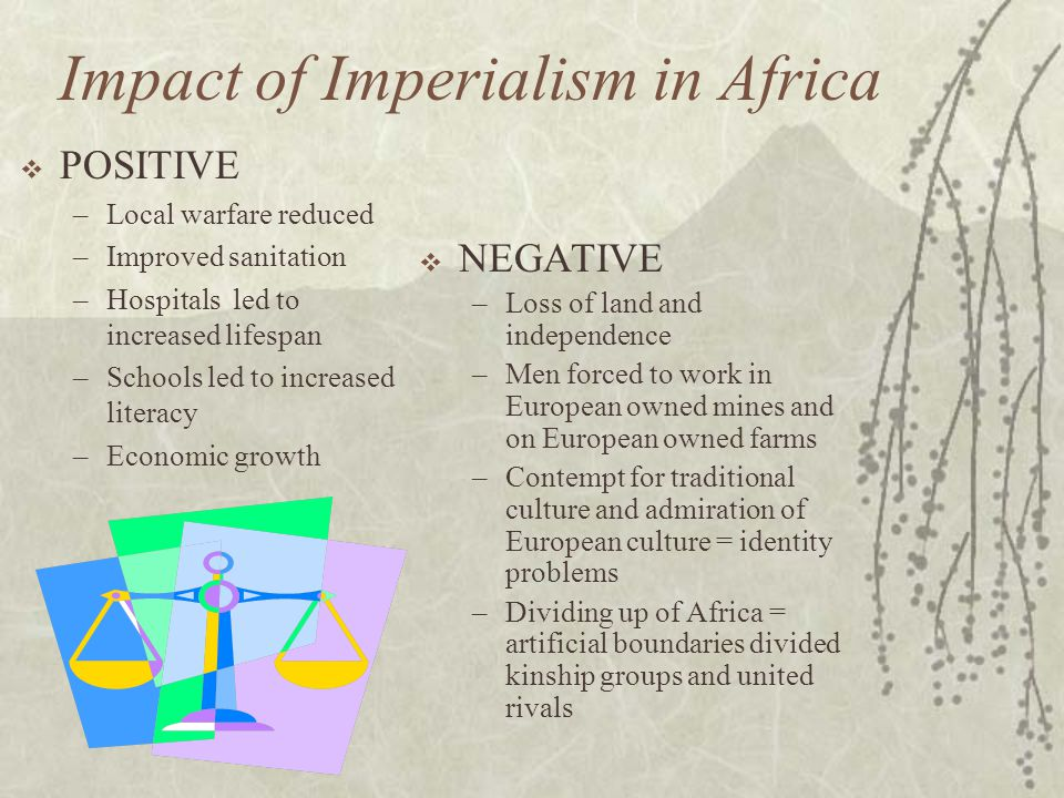 Impact of Imperialism in Africa