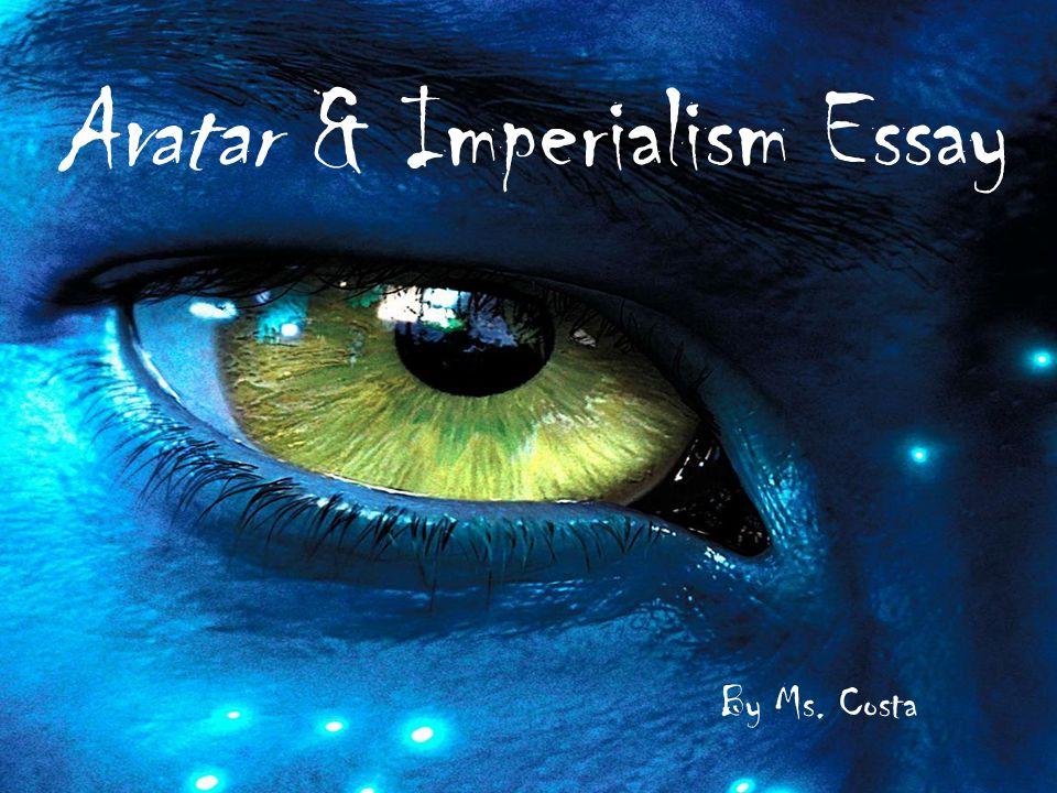 imperialism in avatar