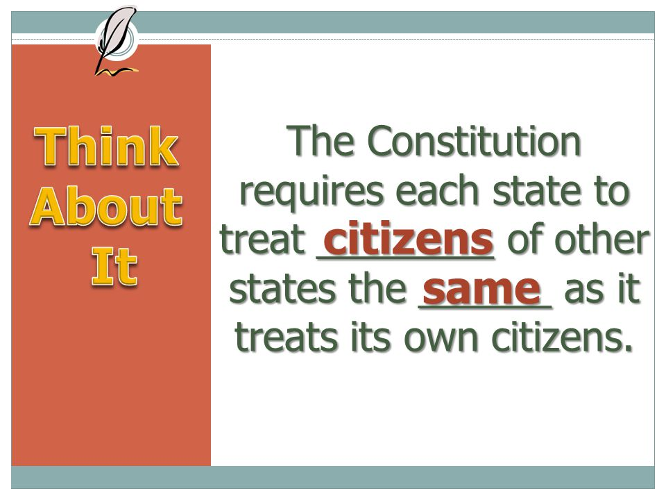 Think About It citizens same