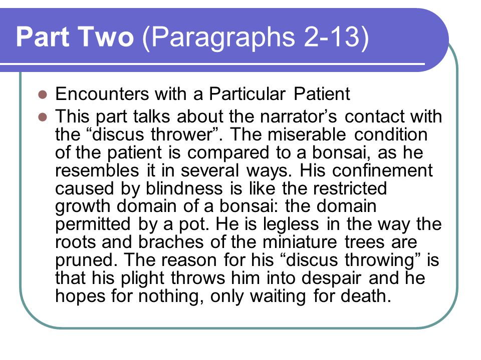 Part Two (Paragraphs 2-13)