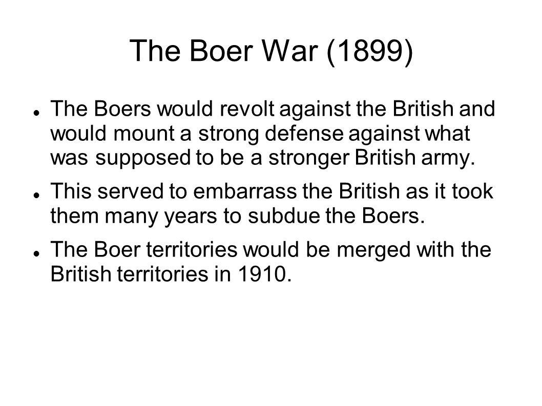 The Boer War (1899)