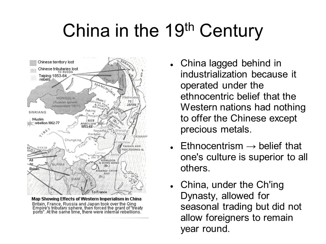 China in the 19th Century