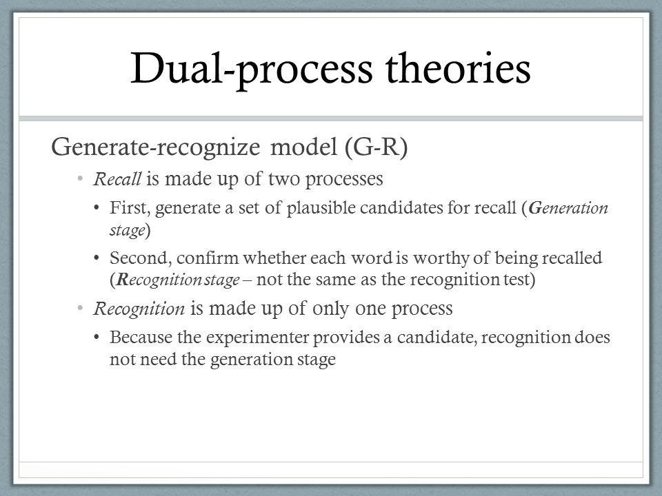 Dual-process theories