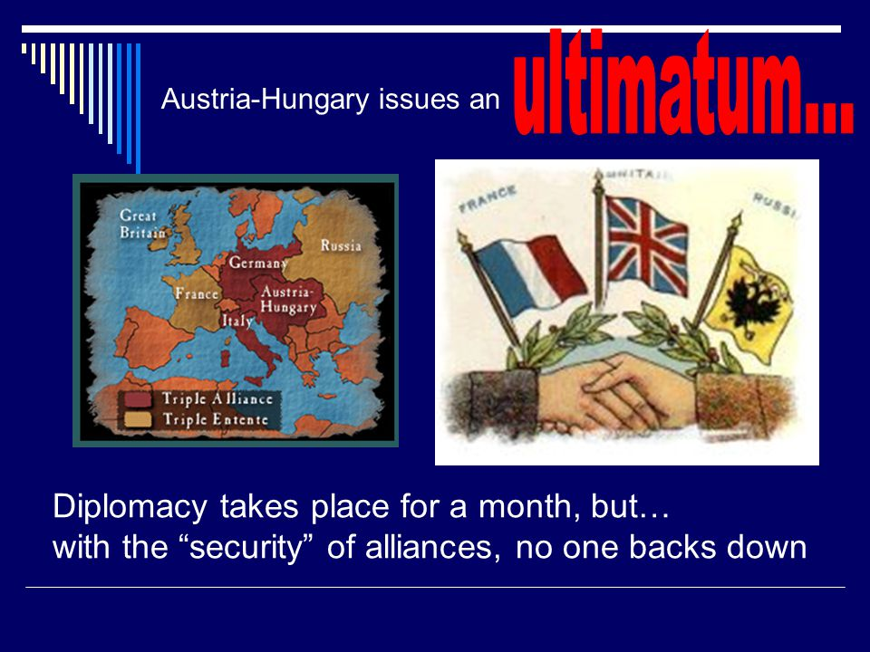 Austria-Hungary issues an