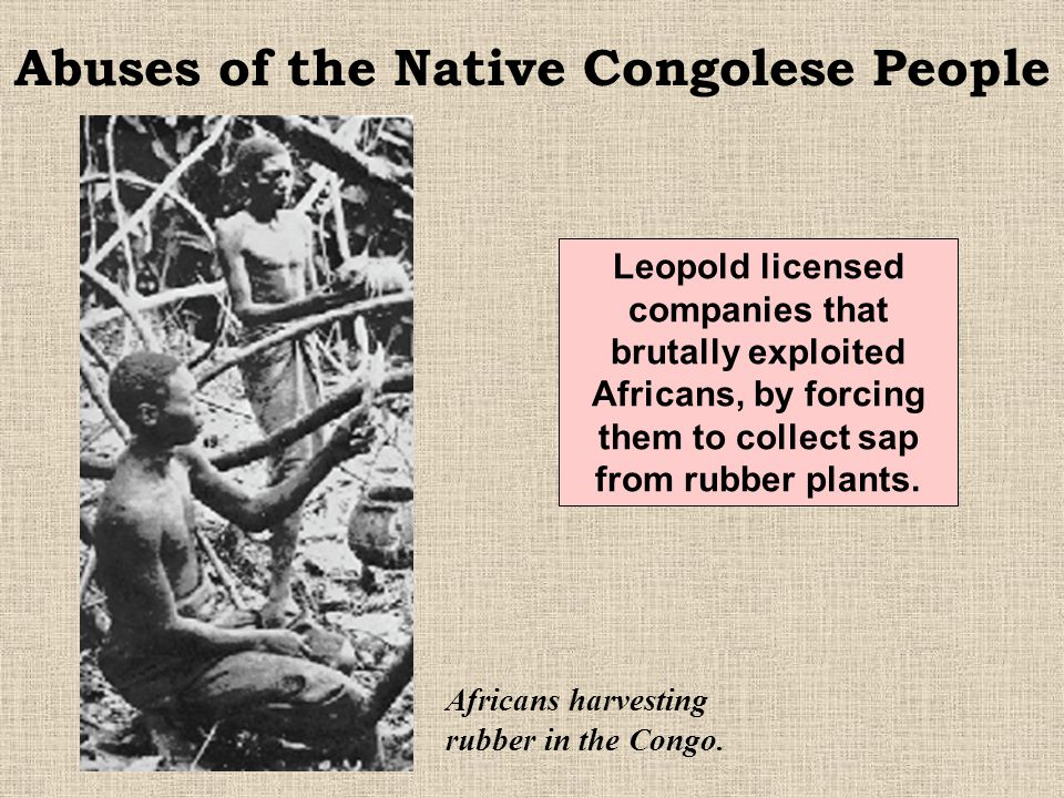 Abuses of the Native Congolese People