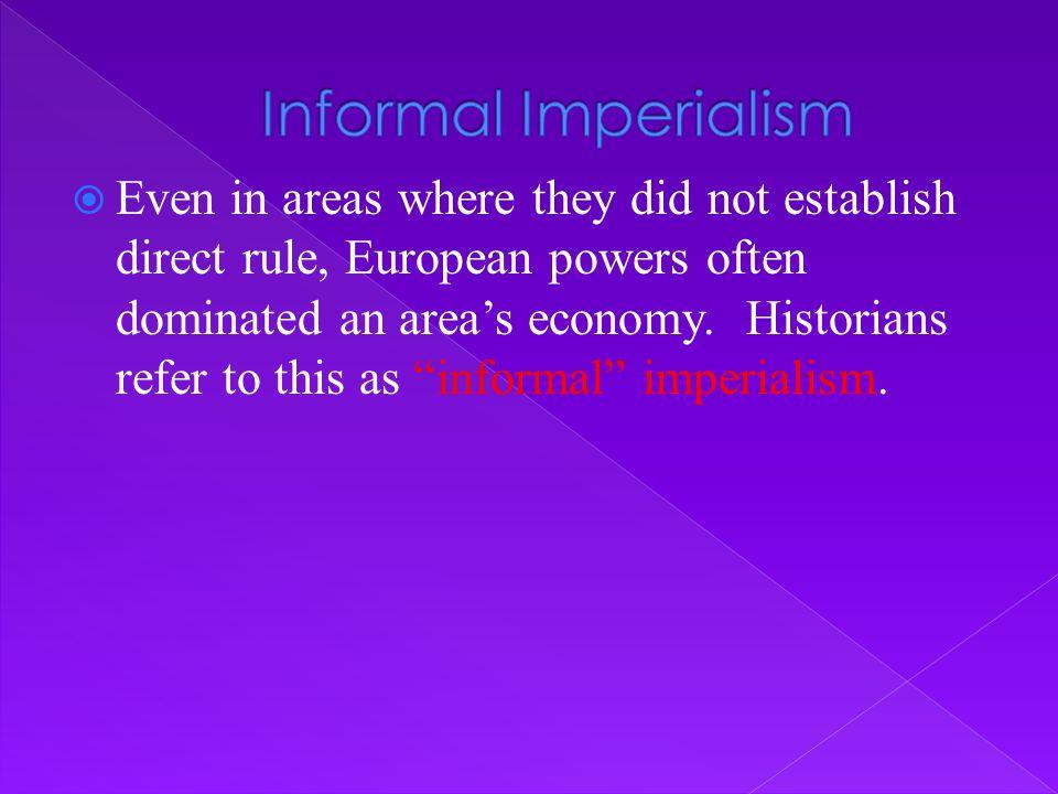 Informal Imperialism