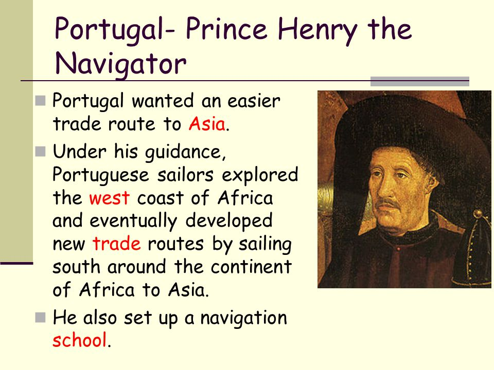 Portugal- Prince Henry the Navigator