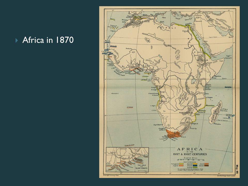 Africa in 1870