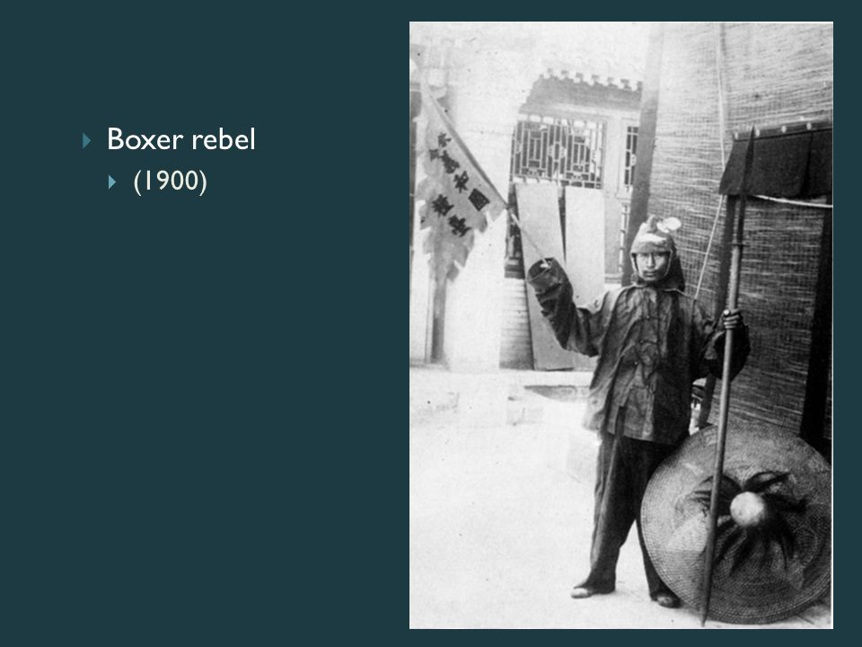 Boxer rebel (1900)