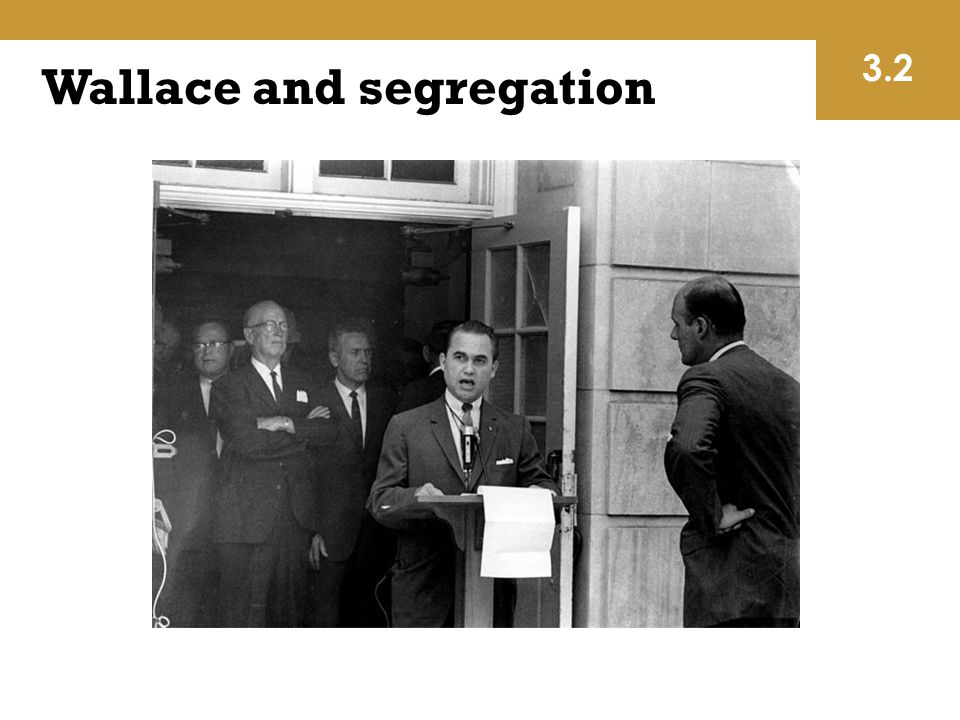 Wallace and segregation