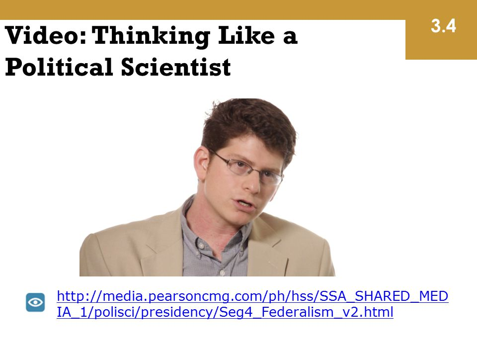 Video: Thinking Like a Political Scientist