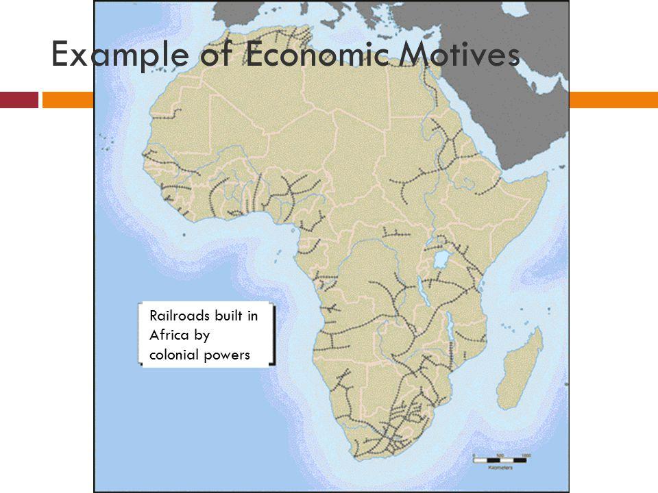 Example of Economic Motives