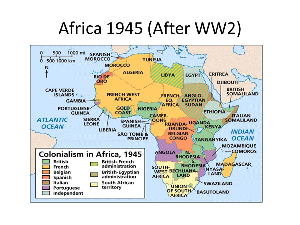Africa 1945 (After WW2)