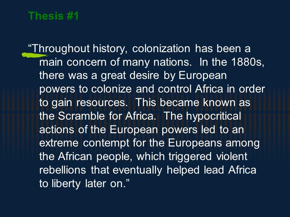 ap world history dbq thesis statements