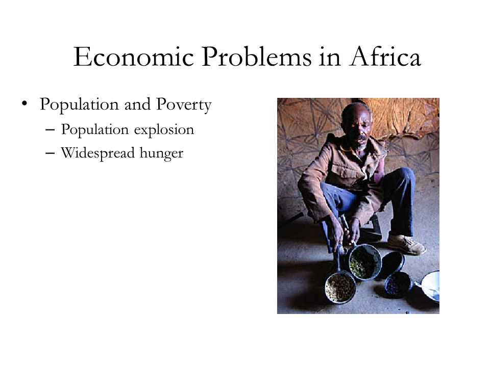 Economic Problems in Africa