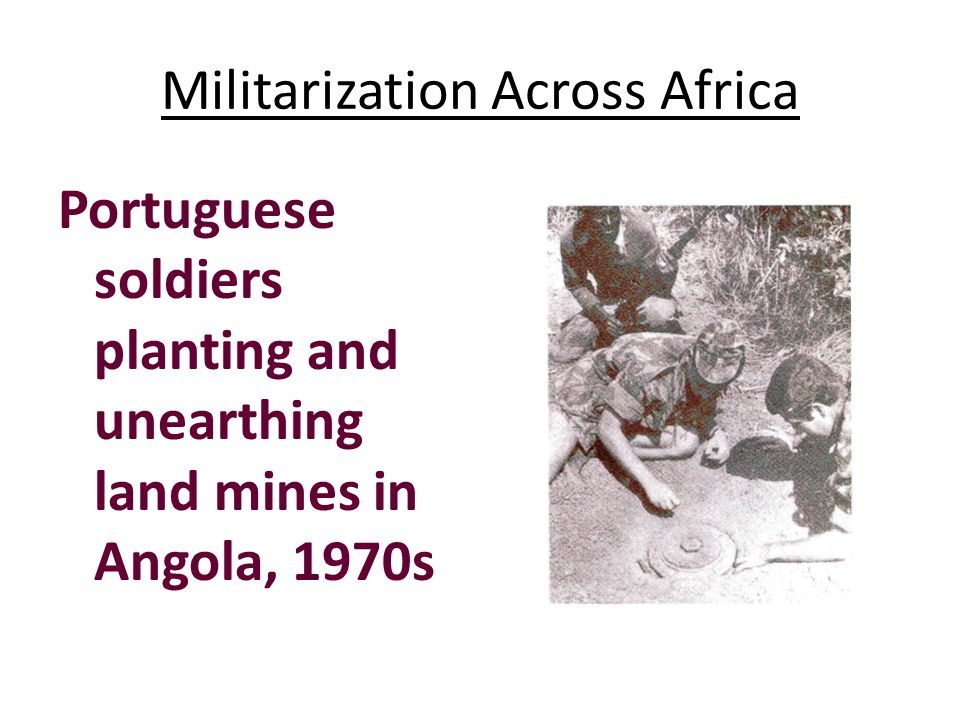 Militarization Across Africa