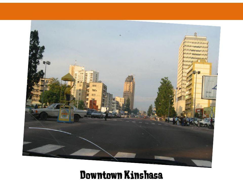 Downtown Kinshasa