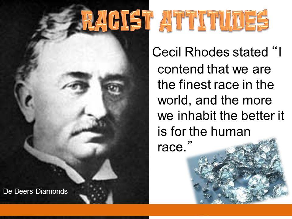 RACIST ATTITUDES