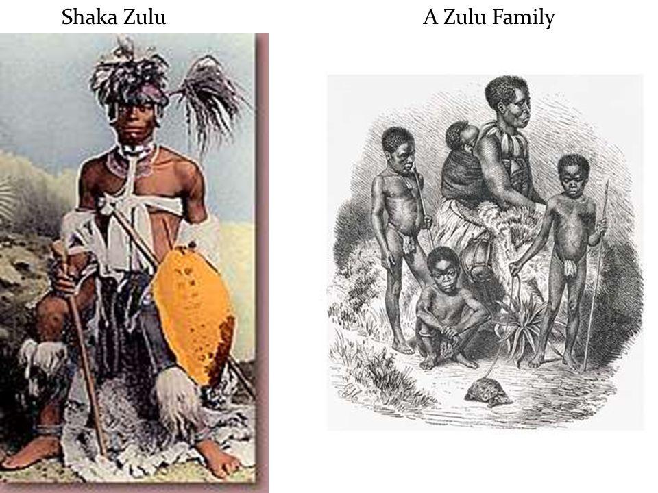 Shaka Zulu A Zulu Family