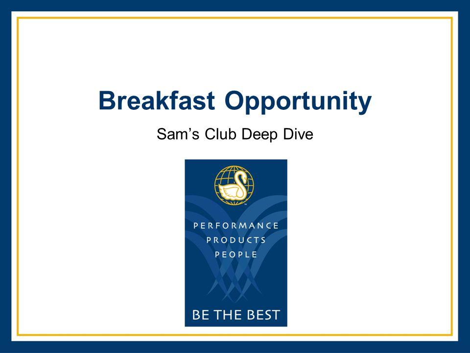 Breakfast Opportunity