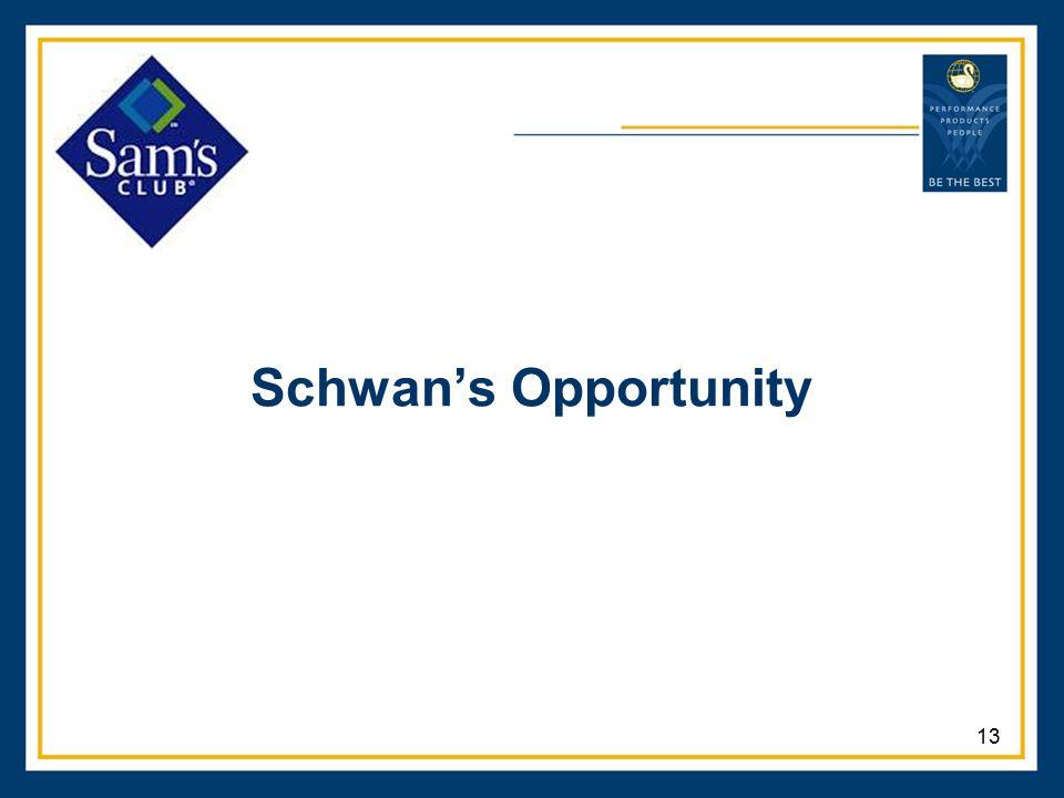 Schwan's Opportunity