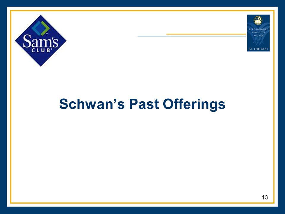 Schwan's Past Offerings